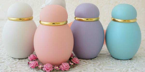 ミニ骨壷|パステル(ピンク・ホワイト・ブルー・パープル)金属製