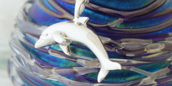 シルバー イルカ・Dolphin