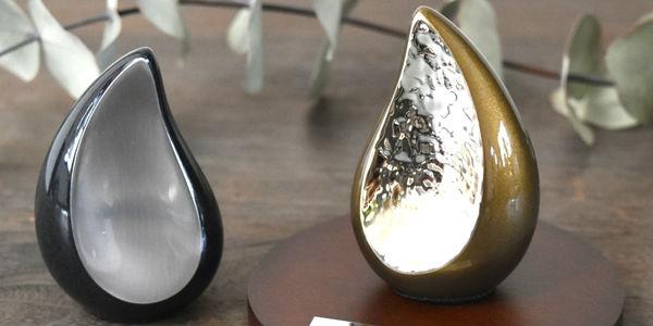 ミニ骨壷(おしゃれなオブジェタイプ・分骨骨壷) | ティアドロップ