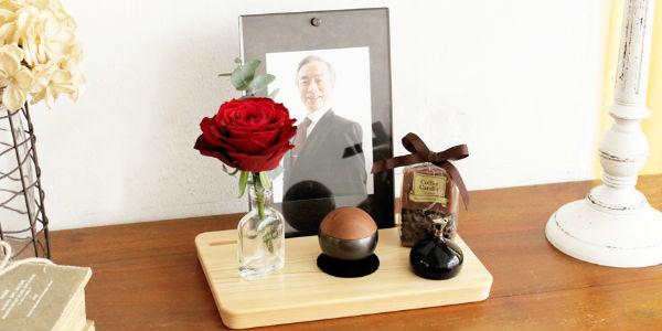 おしゃれなミニ仏壇セット|ピクスタル(ブラックセット)