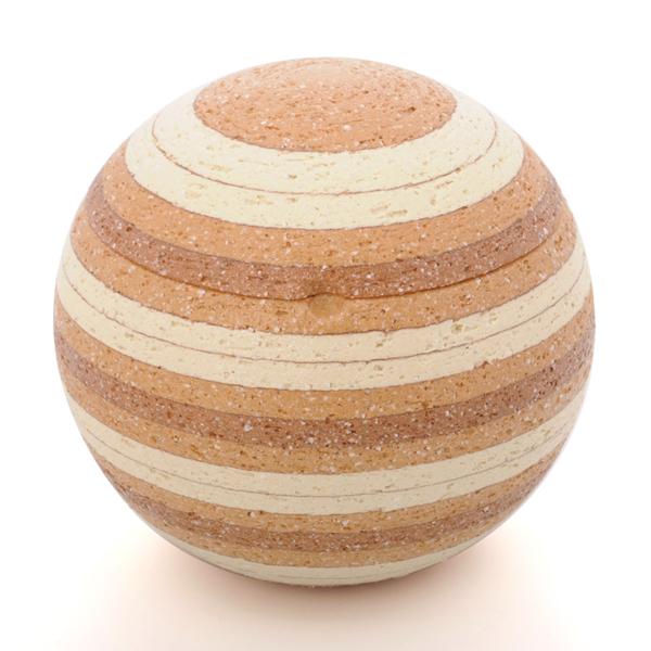 ミニ骨壷|ソラSORAシリーズ|太陽2(陶器製)