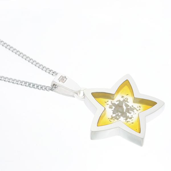 遺骨ペンダント   AZULアズール・星(完全防水・樹脂UVレジン)