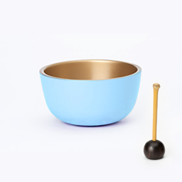 ミニ仏壇のおりん|虹色おりん(ブルー)
