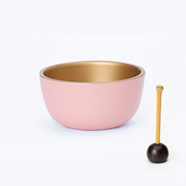 ミニ仏壇のおりん|虹色おりん(ピンク)