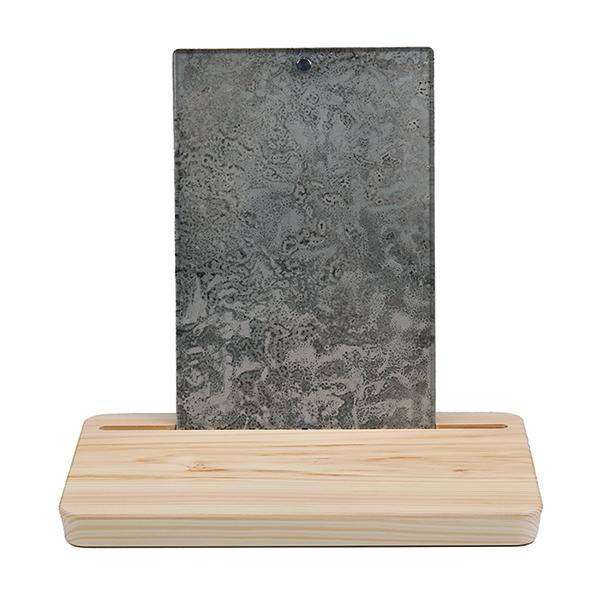 ミニ仏壇 | 祈りのステージ・ピクスタルPicstal・シルバー(フォトフレーム一体型)