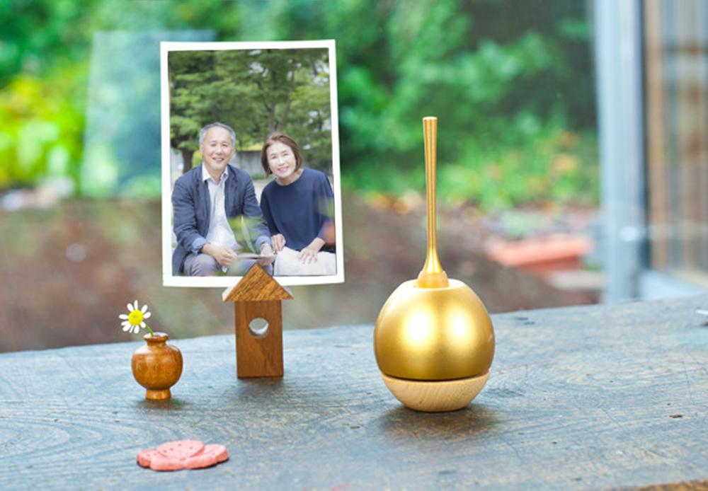 手元供養ミニ仏壇のおりん|Cherin woodチェリンウッド