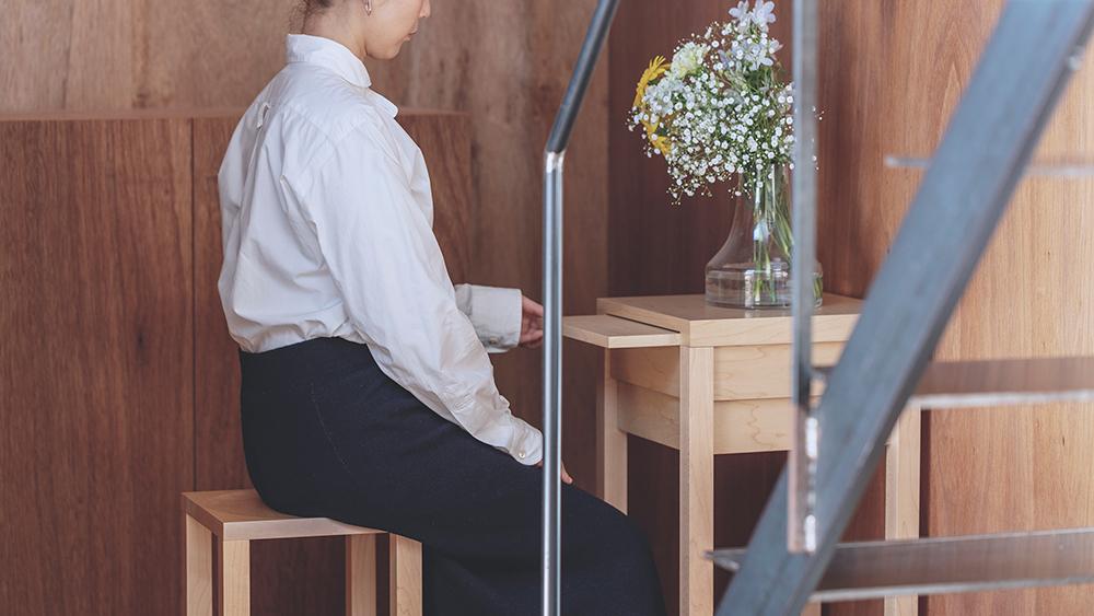 ミニ仏壇 花といのり 椅子