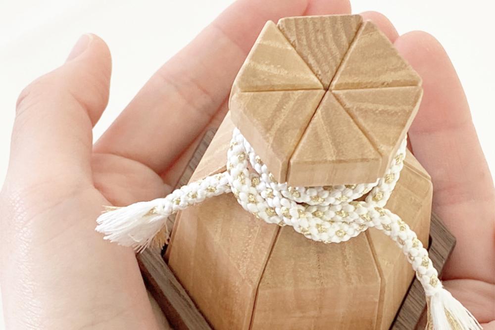 ミニ骨壷 結びの木壺 お包み OKURUMI