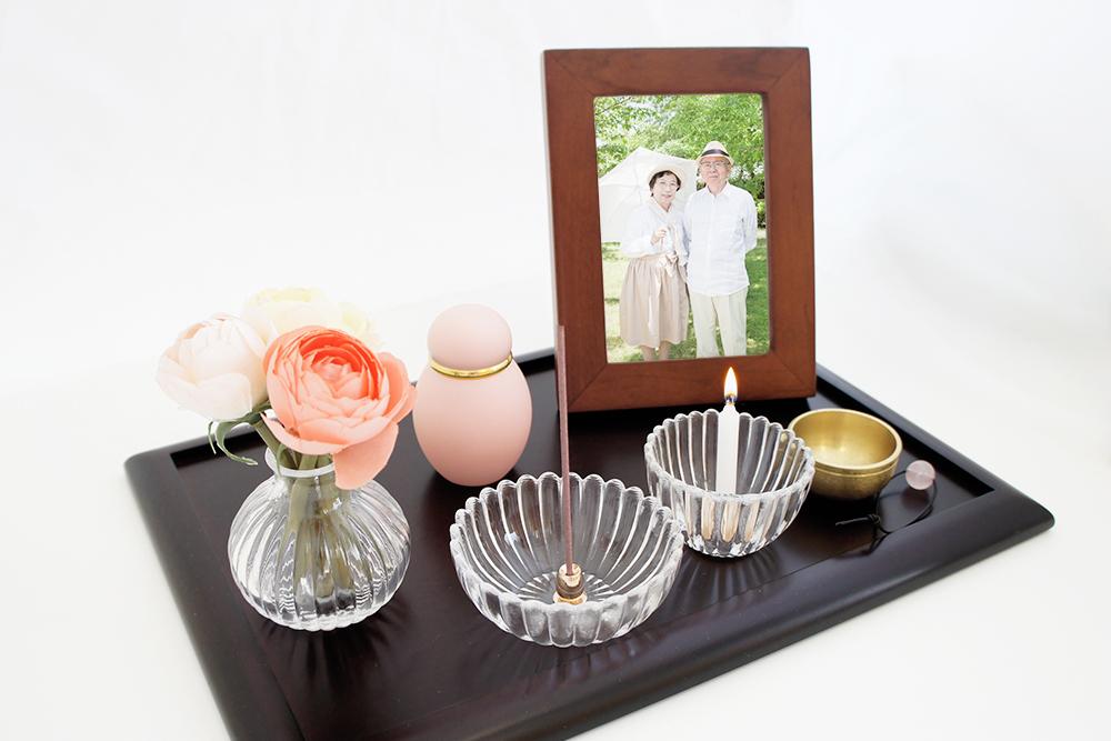 ミニ骨壷|パステル|ピンク(真鍮製)
