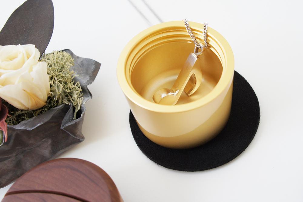 ミニ骨壷・ピクチュアリ・シリンダ(ピンク)