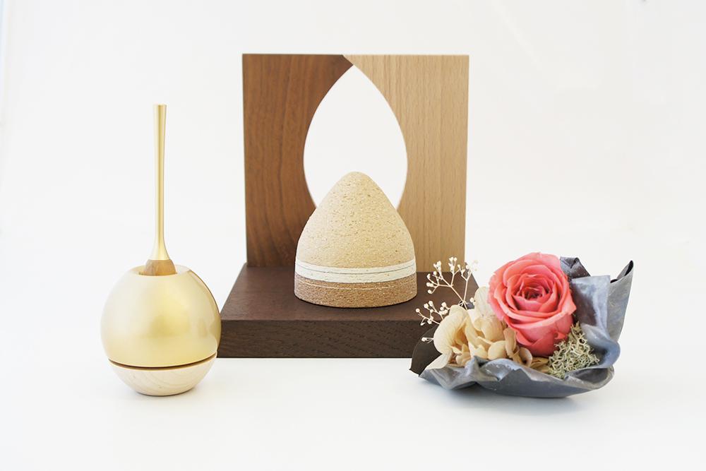 ミニ仏壇 | 祈りのステージ・和やわらぎ(S)| オープンタイプ